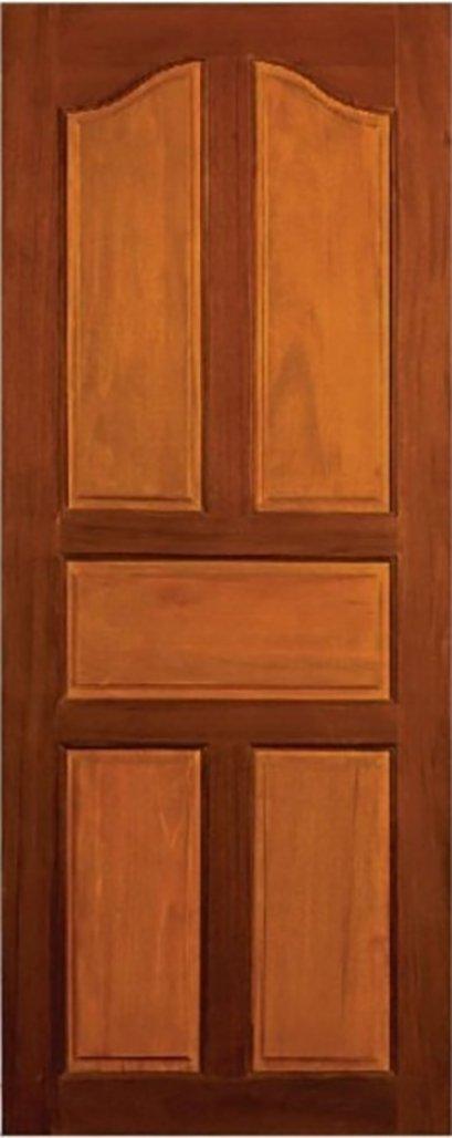 ประตูไม้จริง B2