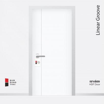 ประตู HDF Linear Groove เซาะร่อง