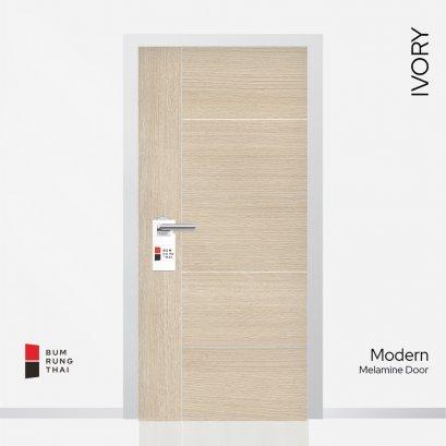 ประตูเมลามีน สี IVORY