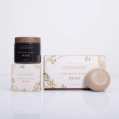 Set Puchmary Mask + Soap (10.10 Flash Sale)