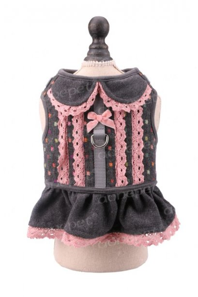 Sweetie Harness (pink/gray) size M