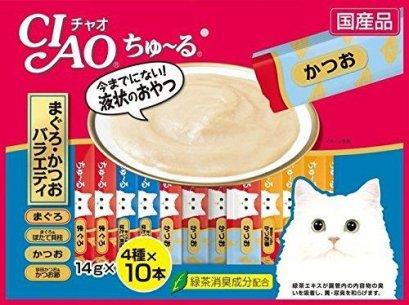 CIAO Churu Cat Lick Snacks Fillet 4 type Flavor x10pcs 40pcs