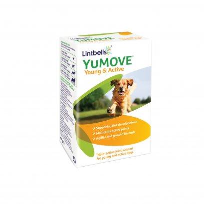 วิตามินเพือการดูแลระบบข้อ ยูมูฟ แอคทีฟ สำหรับลูกสุนัขและสุนัขโต (60 เม็ด)