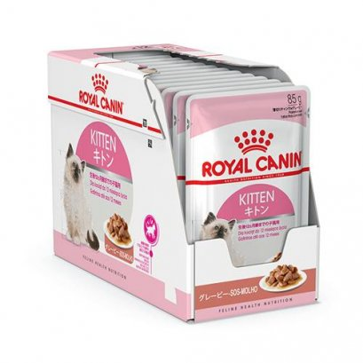 Royal Canin Jelly Instinctive Kitten Pouch 85 g. (12 pcs)
