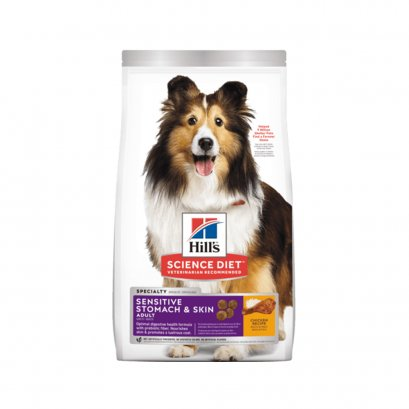 Hill's Science Diet Adult Sensitive Stomach & Skin Chicken Recipe dog food (7 กก)