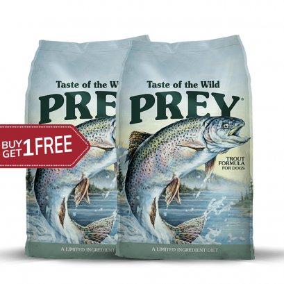 Taste of the wild PREY Trout (680 G.) 1 แถม 1