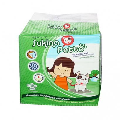 Sukina Petto Training Pad 30x45 cm. (100 Pcs./Pack)