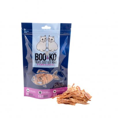 Boo & Ko Cat Snack Fish Slices (50g.)