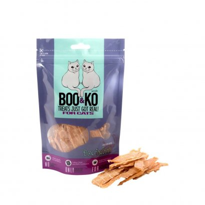 Boo & Ko Cat Snack Chicken Bites (60g.)