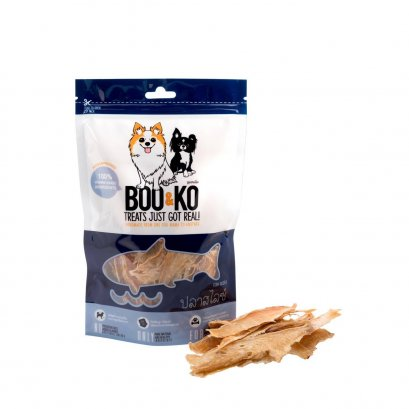 Boo & Ko Dog Snack Fish Slices (50g.)