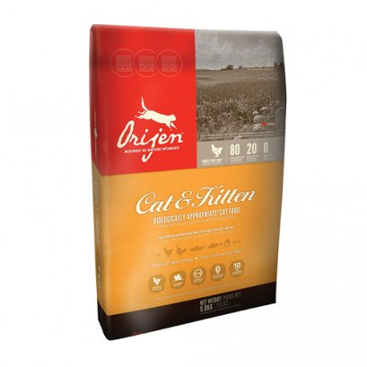 Orijen Biologically Appropriate Cat Food Cat & Kitten (5.4 kg.)