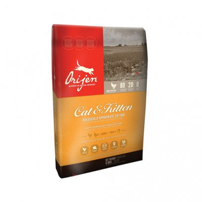 Orijen Biologically Appropriate Cat Food Cat & Kitten (1.8 kg.)