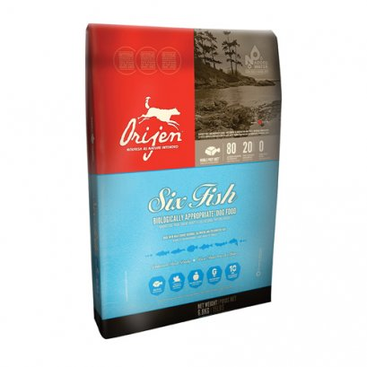 Orijen Biologically Appropriate Dog Food 6 Fish