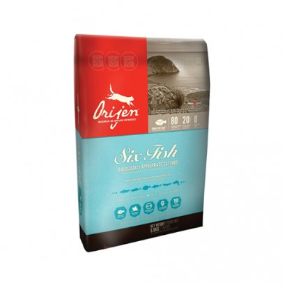 Orijen Biologically Appropriate Cat Food 6 Fish (340 g.)