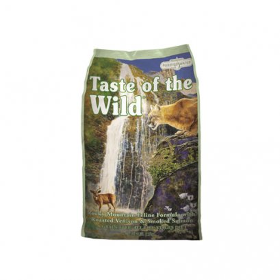 Taste of the Wild Rocky Mountain Feline with Roasted Venison & Smoked Salmon (5 lb.)
