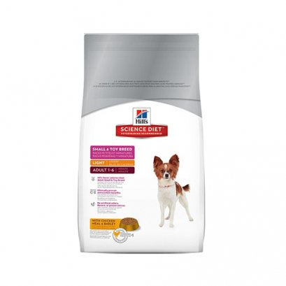 Hill's Science Diet Adult 1-6 Small & Toy Breed Light (1.5 kg.)