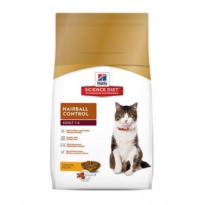 Hill's Science Diet Feline Adult 1-6 Hairball Control (10 kg.)
