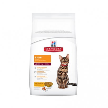 Hill's Science Diet Feline Adult 1-6 Light (2 kg.)