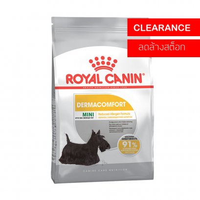Royal Canin Mini Dermacomfort Adult (3 kg) หมดอายุ 24/11/2563