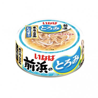 INABA Cat Food Canned Tuna White & Red with Shirasu (125 g.)