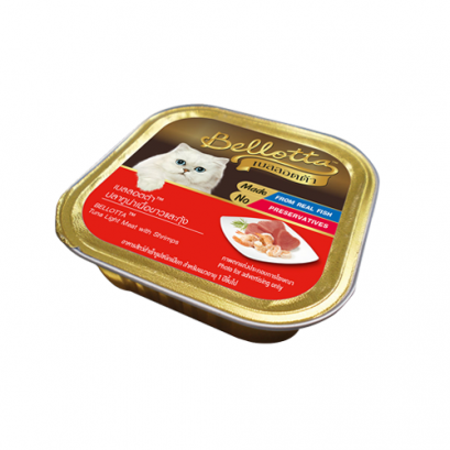 Bellotta Tuna Light Meat with Shrimps (80 g.)