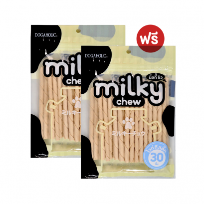 "Milky Chew White T/Stick Style 5"" (30 pcs.) Buy 1 Get 1"