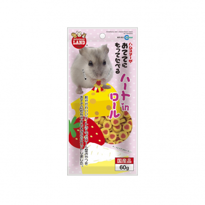 Marukan Strawberry & Cheese Flavor Snack for Hamster (60 g.)