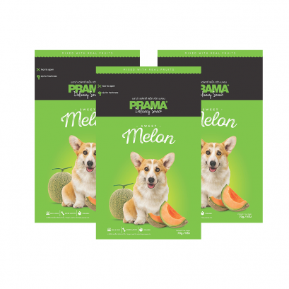 PRAMA Delicacy Snack Fruity Series Melon (70 g.) x 3