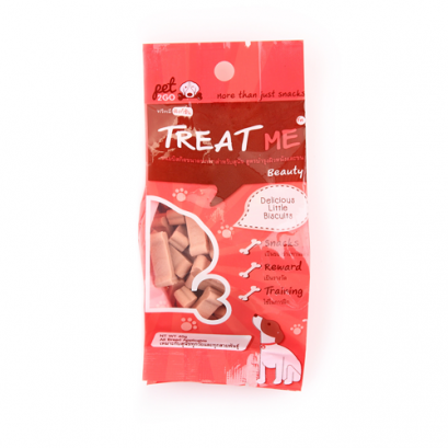 Pet2GO Treat Me Beauty Beef Flavor (40 g.)
