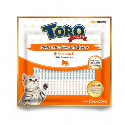 Toro Plus White Meat Tuna with Lobster (25 pcs./Pack)