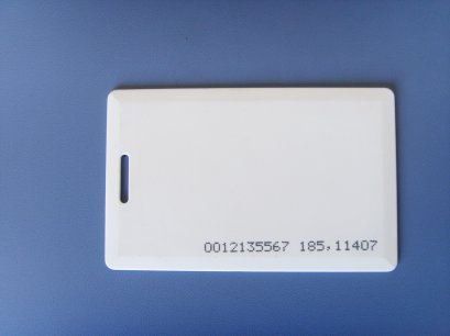 Clamshell card,125KHz