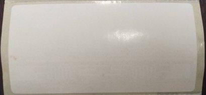 UHF Label 9640 -2x4 inch