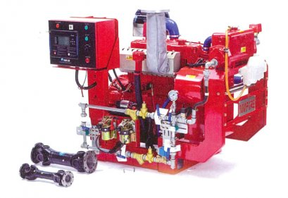 FIRE FIGHTING DIESEL ENGINE