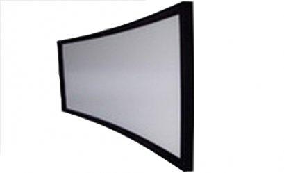 จอโค้ง fix frame 120 นิ้ว R=6000mm 16:9