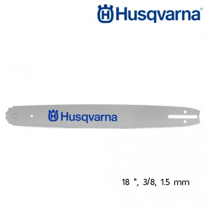 "HUSQVARNA CHAINSAW BAR 18"", 3/8, 1.5MM"