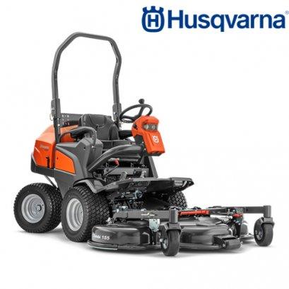 Husqvarna รถตัดหญ้านั่งขับแผ่นใบตัดอยู่ด้านหน้า รุ่น P525D