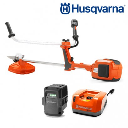 HUSQVARNA BRUSH CUTTER BATTERY 536LiRX INCLUDING BATTERY AND CHARGER