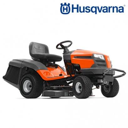Husqvarna รถตัดหญ้านั่งขับ รุ่น TC238 เครื่อง 20 แรงม้า(เกียร์ออโต้)