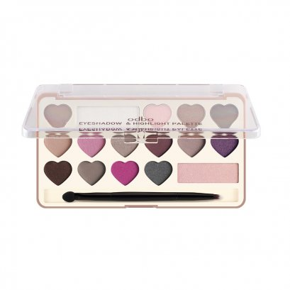 odbo Eyeshadow & Hilight Palette OD1014