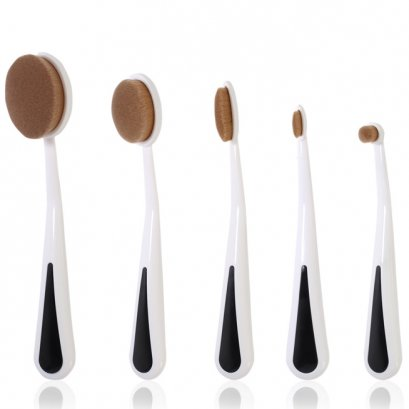 odbo Oval Makeup Brush OD879 (5 pcs)