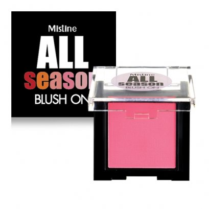 (ไม่มีแปรง) บลัชออนสวยทุกฤดู มิสทีน ออล ซีซั่น บลัชออน ขนาด 3 กรัม Mistine All Season Blush on 3 g.