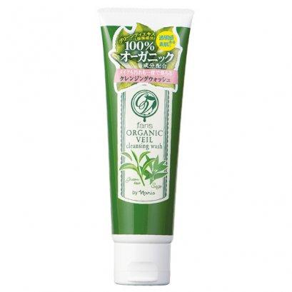 โฟมชาเขียว ฟาริส ออร์แกนิค เวลล์ เคลนซิ่ง วอช Faris Organic Veil Cleansing Wash 120 g.