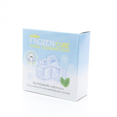 Mistine Frozen Cube Facial Cleansing Soap 4x20 g.
