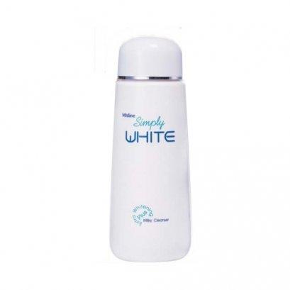 Mistine Simply White Milky Cleanser 120 ml.
