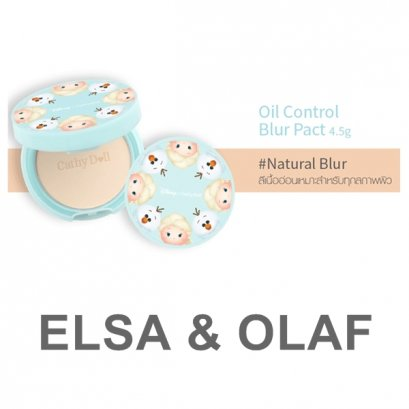 Cathy Doll Disney Oil Control Blur Pact 4.5 g. Natural Blur