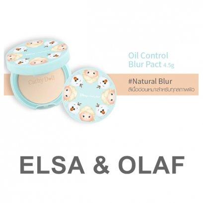 Cathy Doll Disney Oil Control Blur Pact 4.5 g. Natural Blur
