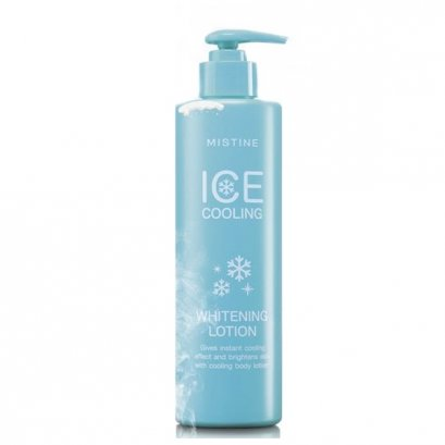 Mistine Ice Cooling Whitening Lotion 400 ml.