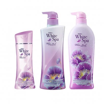 Mistine White Spa White Musk UV Whitening Series
