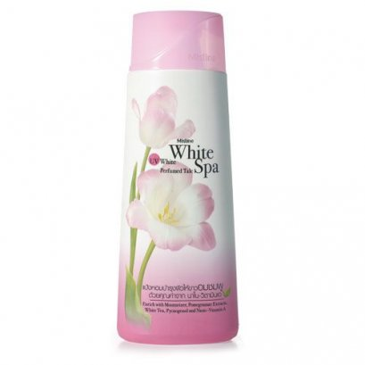 Mistine White Spa UV White Purfumed Talc 200 g.