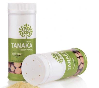 Mistine Tanaka Talcum Powder 100 g.